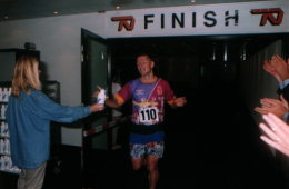 Finish of the Stair-run 1996 edition
